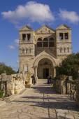 Mount Tavor , Transfiguration Church , Israel. — Stock Photo