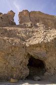Sůl v jeskyni v hoře Sodom, Izrael — Stock fotografie