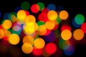 Abstrakt - Defokussiert leuchtend farbige Objekte — Stockfoto
