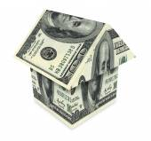 House from the money — Stock Photo