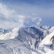 Winter snowy mountains — Stock Photo #52014061