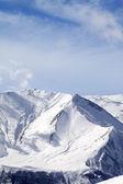 Kış karlı dağlar — Stok fotoğraf