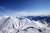 Winter snowy mountains at nice day — Stock Photo