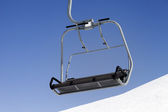 Chair-lift close-up view — Stok fotoğraf