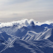 Panorama of evening mountains — Stock Photo #53776367