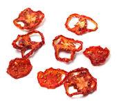 Dried slices of ripe tomato — Stok fotoğraf