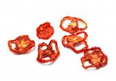 Dried slices of ripe tomato — Stock Photo