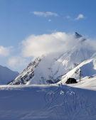 Hotel on ski resort — Fotografia Stock