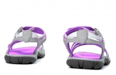 Summer sandals. Back view. — Stock Photo