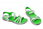 Pair of summer sandals — Stock Photo