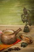 Indian tea party — Stock Photo