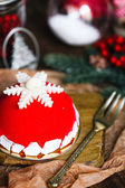 圣诞甜点 — 图库照片