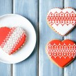 Valentine cookies — Stock Photo #62987591