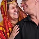 Portrait of happy senior couple — Stock Photo #69464305