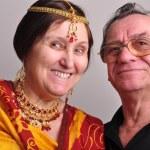 Portrait of happy senior couple — Stock Photo #69464753