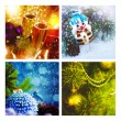 Set of christmas backgrounds — Stock Photo #57799971