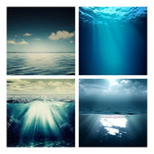 Abstract marine backgrounds — Stock Photo