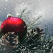 Christmas decorations background — Stock Photo #59816165
