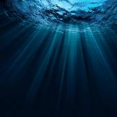 Deep water background — Stock Photo