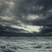 Stormy ocean water — Stock Photo