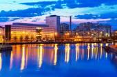 Evening scenery of Helsinki, Finland — Stock Photo