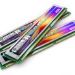 DDR4 memory modules — Stock Photo #53949053