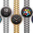 Collection of luxury smart watches — Photo #55735089