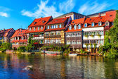 Old Town in Bamberg, Germany — Stock Photo