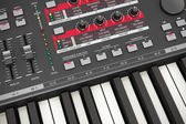 Professional musical synthesizer — Stock Photo