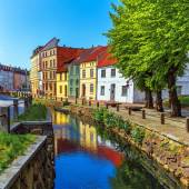 Old Town of Wismar, Germany — Stock Photo