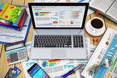 Modern business work concept — Stock Photo