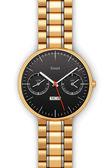 Golden luxury smart watch — Stock Photo