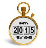 New Year 2015 concept — Stockfoto
