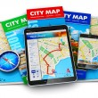 GPS navigation, travel and tourism concept — Stock Photo #60195303