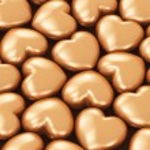 Golden hearts — Stock Photo #61589073
