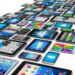 Mobile devices — Stock Photo #61589119