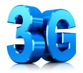 3G wireless technology logo — Stock Photo