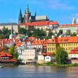 Scenery of Prague, Czech Republic — Stock Video #63308843