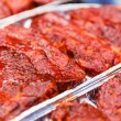 Fresh raw meat for babecue — Stock Photo #64444539