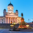 Evening Senate Square, Helsinki, Finland — Stock Photo #64444557
