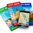 GPS navigation, travel and tourism concept — Stock Photo #64444567