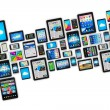 Mobile devices — Stock Photo #64444601