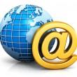 E-mail and internet communication concept — Stock Photo #67682841