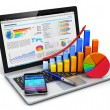 Business, finance and accounting concept — Stock Photo #68636495