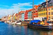 Nyhavn, Copenhagen, Denmark — Stock Photo