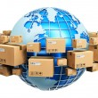 Global shipping concept — Stock Photo #71798629