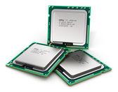 Modern CPU — Stock Photo