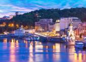 Evening scenery of Kyiv, Ukraine — Stock Photo