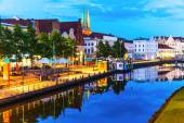 Lubeck, Germany — Stock Photo