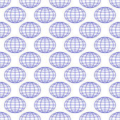 Globes background — Stock Vector